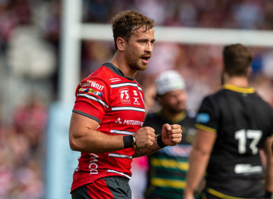 Cipriani starred for Gloucester on the opening weekend of the Premiership.