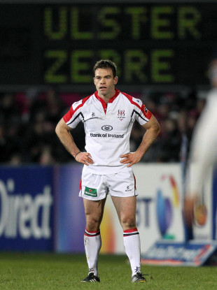 Neil Walsh pictured during a 2013 Pro12 clash between Ulster and Zebre.