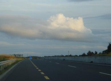 The M17/18 motorway opened last year.