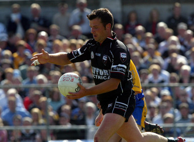 Paul Taylor in action in 2004.