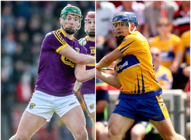 Naomh Éanna's Conor McDonald and Cratloe's Podge Collins discovered their next opponents.