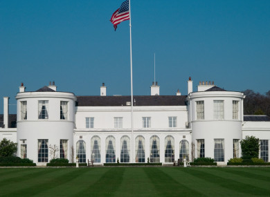 Home of the US ambassador in Phoenix Park