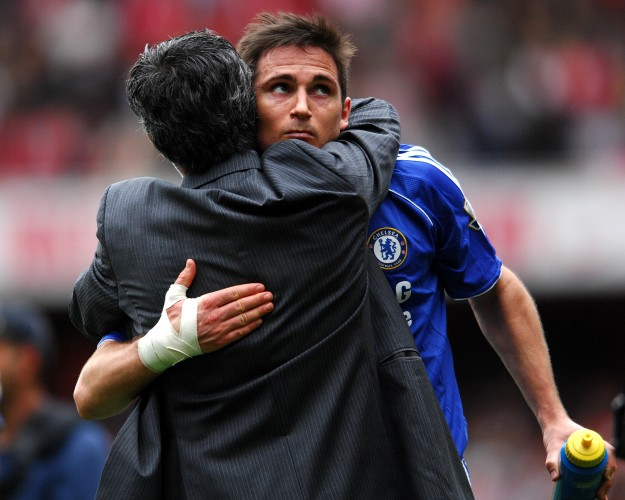 Lampard relishes coming up against former boss Mourinho at Old Trafford