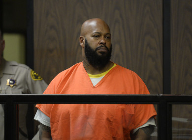 Marlon 'Suge' Knight in court in 2015