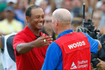 Woods: I was close to tears on the last hole