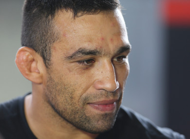 Werdum: failed out-of-competition urine test in April.