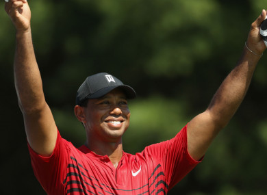 Tiger Woods will be in action in the Ryder Cup in Paris at the end of this month.