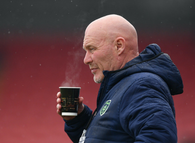 Ireland U19 manager Dave Connell.