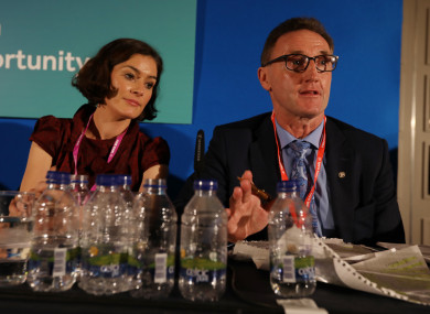 Fitzpatrick was on opposite sides to party colleague Kate O'Connell in the Eighth debate.
