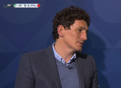 Andrews speaking on Sky Sports.