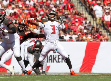 Tampa Bay Buccaneers quarterback Jameis Winston.