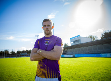 Paul Mannion at yesterday's press event before the 2018 Dublin county senior football final.