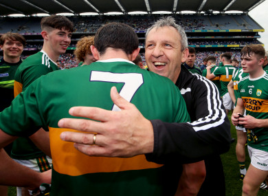 Peter Keane has guided Kerry to the last three All-Ireland minor title wins.