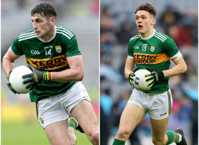 Paul Geaney and David Clifford were in opposition today.