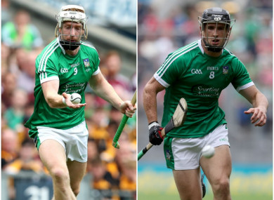 Limerick duo Cian Lynch and Darragh O'Donovan faced off today.
