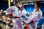 McCathy pictured at the 2018 Irish Karate International Open three weeks ago.
