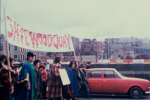 September 1978, 20,000 people march through Dublin calling for Wood Quay to be protected as a national monument.