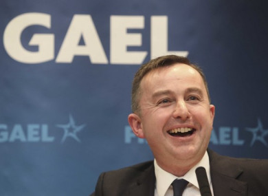 Fine Gael MEP Brian Hayes