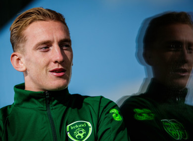 Ronan Curtis has previously been a regular for the Ireland U21 side.