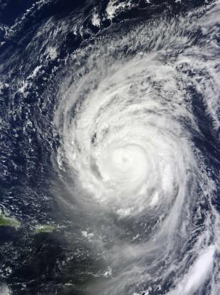 Hurricane Igor captured by the MODIS instrument on board the Terra satellite
