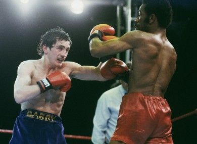 Barry McGuigan became WBA Featherweight Champion in 1985.