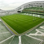 Home to: Irish soccer and rugby