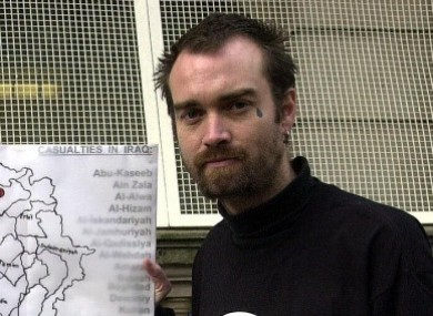 Ken O'Keefe, one of two Irish citizens, brought to Greece against their will
