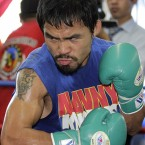 The  Filipino became the first boxer in history to earn world championships in seven different weight classes - which is great. But less than a year later, Pacquiao upset heavy favorite Roy Chiongbian in the race to represent the province of Sarangani in the Philippine Congress.