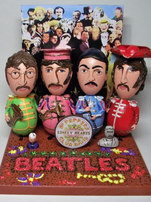 Even Beatles-themed Easter Eggs were available before the band's back catalogue appeared on iTunes earlier today.