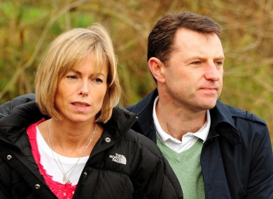 Kate and Gerry McCann: