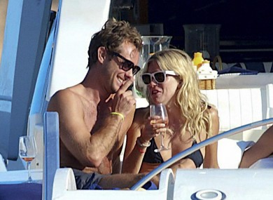 Jude Law and Sienna Miller: Miller is currently pursuing legal action against the News of the World over claims it intercepted voicemail messages left on her phone.