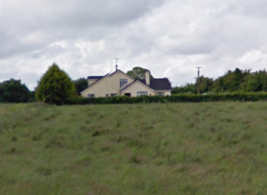 The Rathmolyon house in which a 25-year-old, believed by locals to have been a Polish national, was killed on Wednesday night.