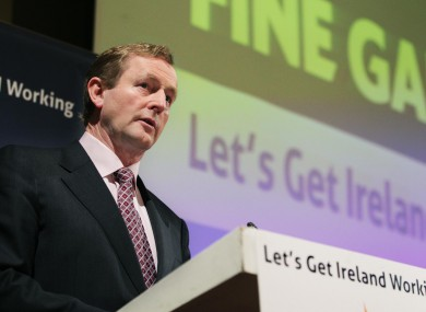 Enda Kenny is now virtually unbackable to become the next Taoiseach.
