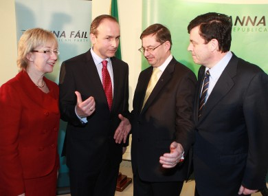 Mary Hanafin, Eamon O Cuiv and Brian Lenihan will each defer tax-free payouts of over €88,000, under instruction from party leader Micheál Martin.