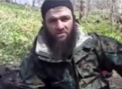 Undated image of Chechen militant leader Doku Umarov.