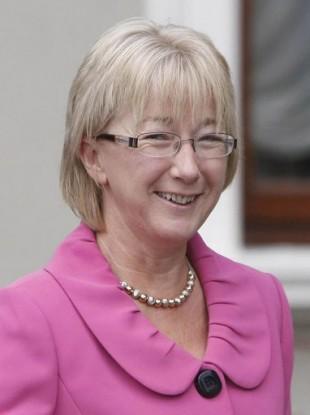 Minister Mary Hanafin, who says she is not rushing through the 'three strikes' legislation tomorrow