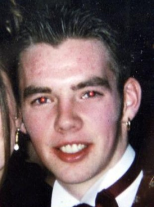 Undated picture of Jonathan Simms, 19, from West Belfast.