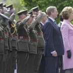 President McAleese and Taoiseach Enda Kenny attend commemorations.