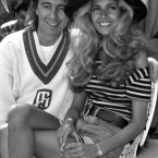 Rolling Stones bassist Bill Wyman started dating Mandy Smith when he was 47 and she was 13. They were married six years later, and their wedding was one of the first to be covered by Hello!, in a 14-page spread titled 'The fairy-tale wedding of Bill Wyman and Mandy Smith'. They split two years later. <span class=