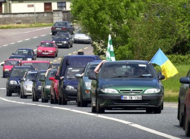 The Queen's a few weeks early for the Munster Hurling Championship, but some traffic restrictions will apply tomorrow in Tipperary and Cork.
