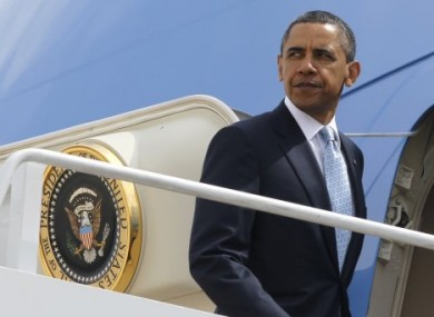 Barack Obama is due in Ireland on 23 May