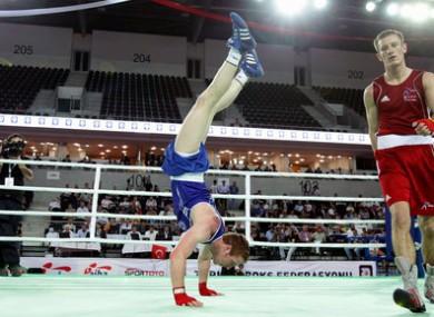 European Champion Ray Moylette