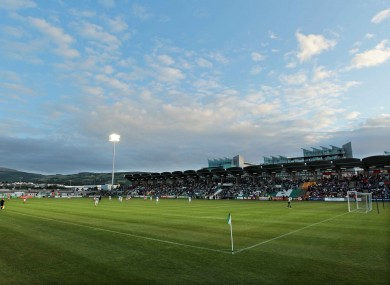Tallaght Stadium, home to Shamrock Rovers since its opening in March 2009.