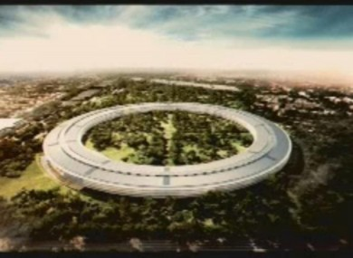 Artist's impression of the new Apple HQ, which should be finished by 2015