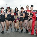 The girls out today at Oxegen 2011. (Mark Stedman/Photocall Ireland)
