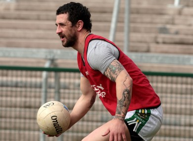 Paul Galvin: back in action.