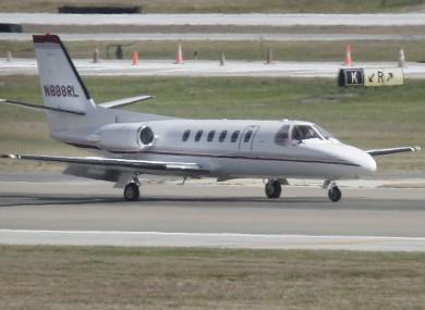 A Cessna Citation jet, similar to that used by AeroMedevac Ireland.