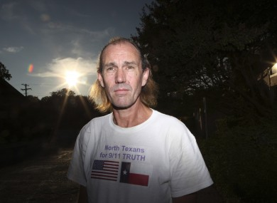 Bryan Black, of North Texans for 9/11 Truth