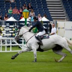 Billy Twomey riding Cavinem for Ireland - they won the Speed Stakes today. (Pic by Michelle Geraghty)