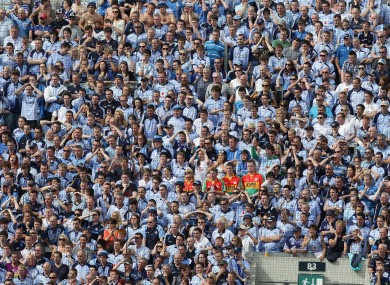 Hill 16 will be packed to capacity again this Sunday as the Dubs take on Donegal for a place in the All-Ireland final.